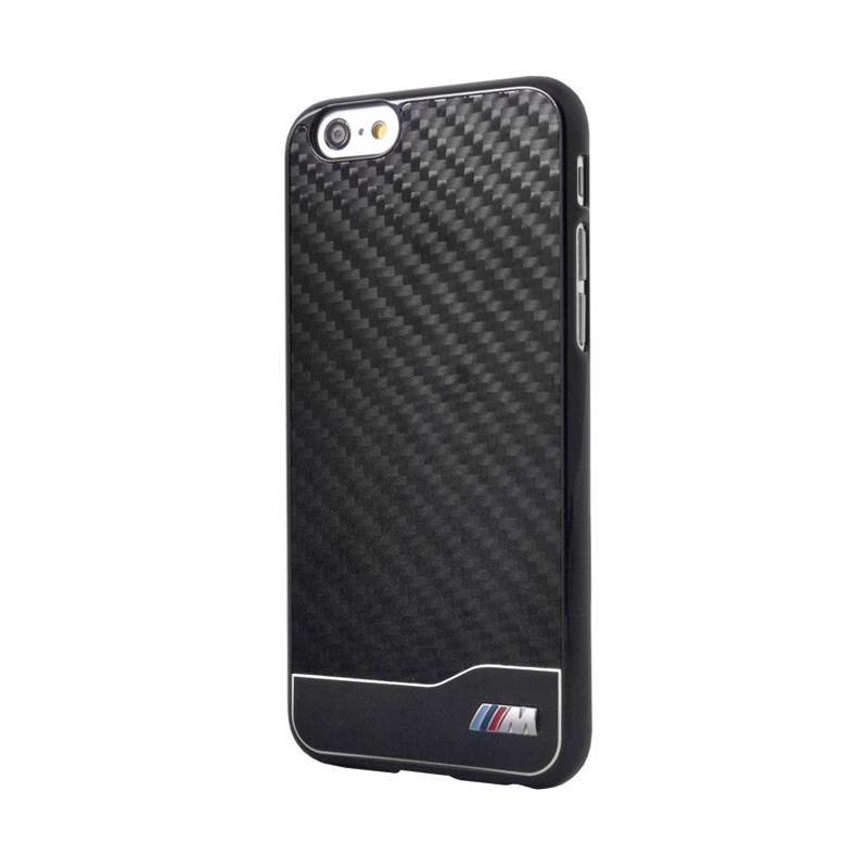 BMW Carbon Alumunium Casing for iPhone 6 Plus - Black