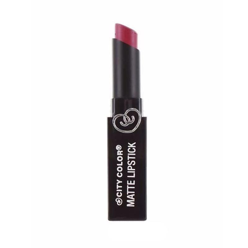 City Color Matte Lipstick - Velvet