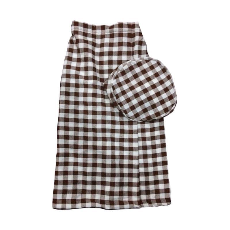 Mukena Dinda C13 Sarung Celana Anak - Brown