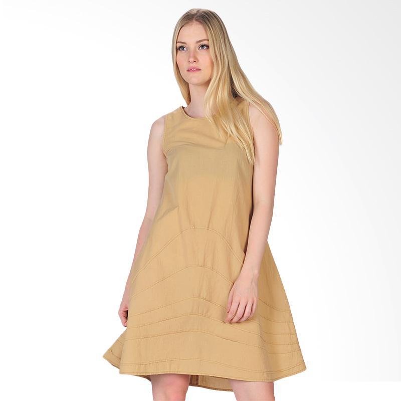 SJO's Genoa Women's Dress - Brown
