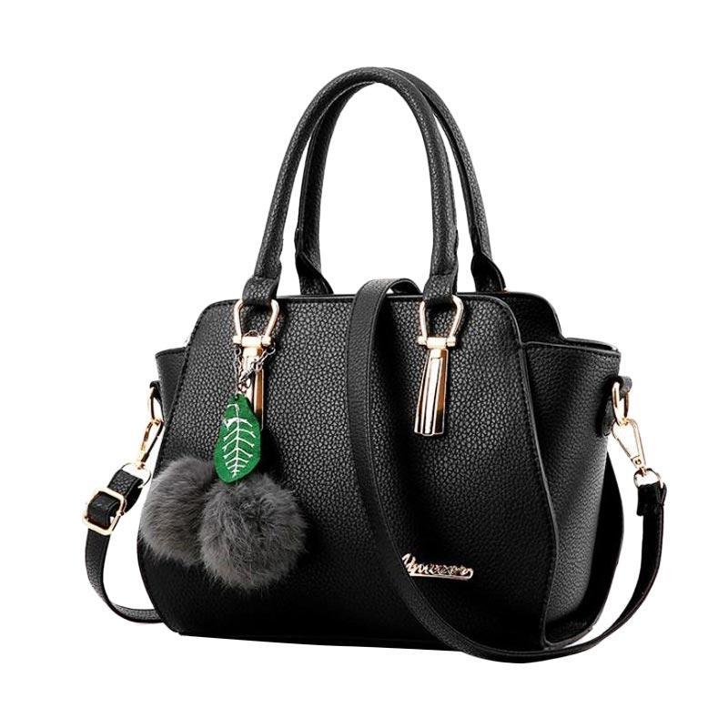 Annies Fashion Wiolletha Tas Wanita - Black