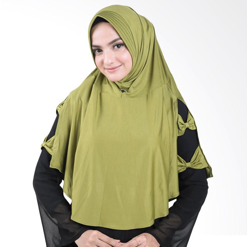 harga Atteenahijab Alisa Najwa Kerudung - Hijau Lumut Blibli.com