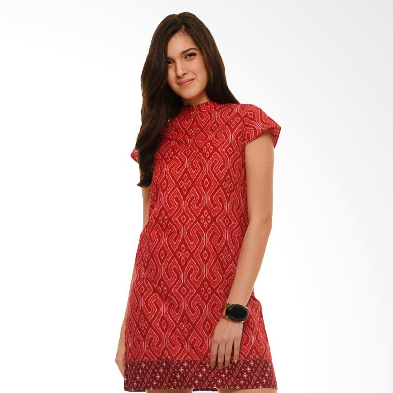 Bateeq CL15-010A Short Sleeve Cotton Dress - Red