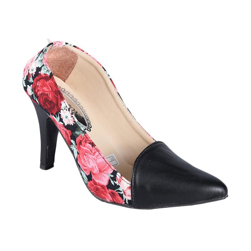 HEBRON SN-090 High Heels Sepatu Wanita - Hitam