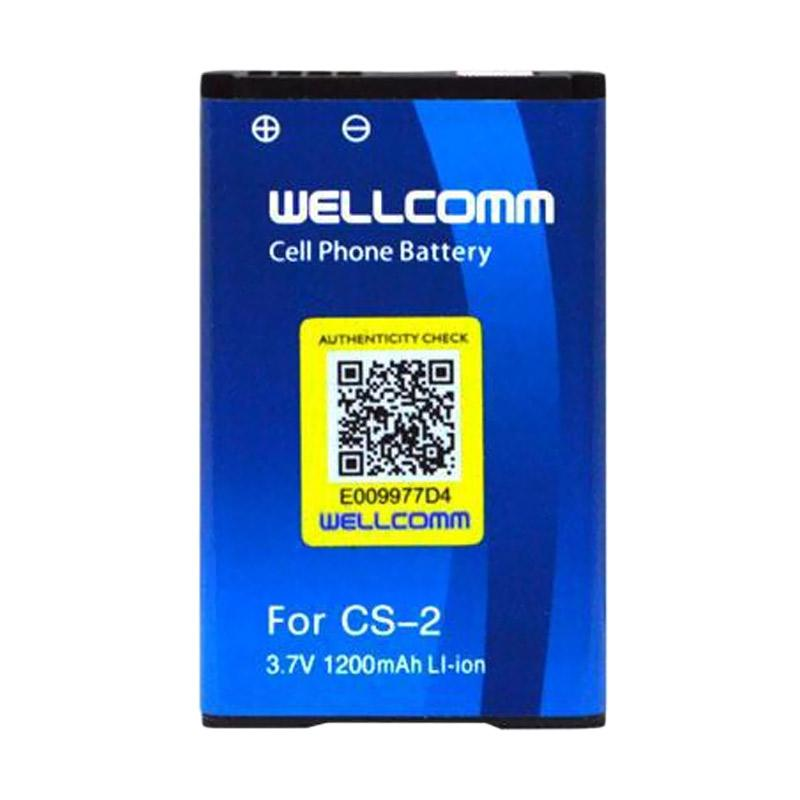 Welcomm CS-2 Baterai for BlackBerry - Biru