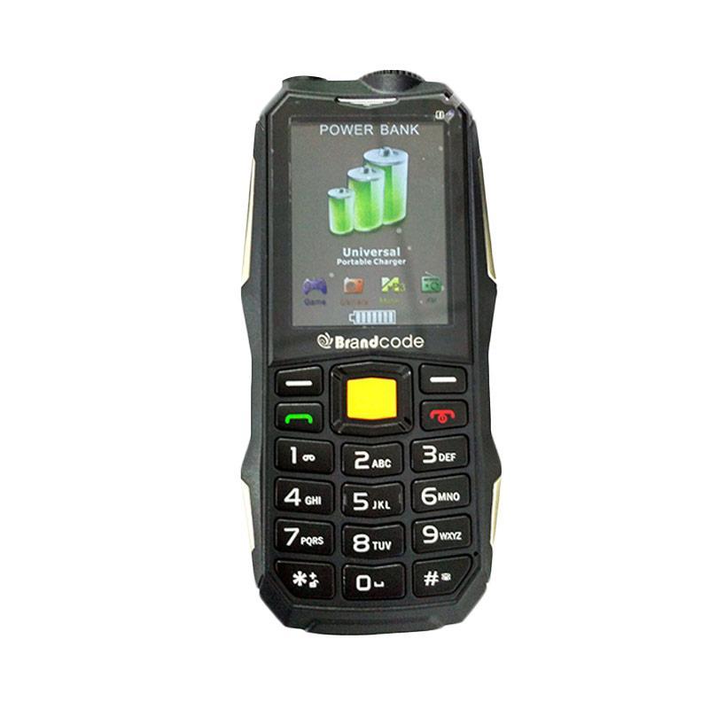 BrandCode HP Powerbank B81 - Hijau [10.000 MAh/Dual SIM]