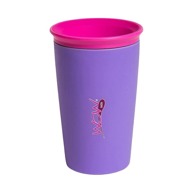 Wow Kids Spill Free 360 Derajat Drinking Cup - Purple
