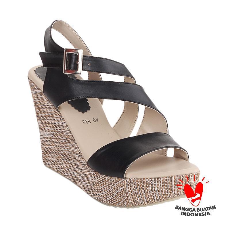 harga Blackkelly LRY 919 Jennifer Tali Sandals Wedges Blibli.com