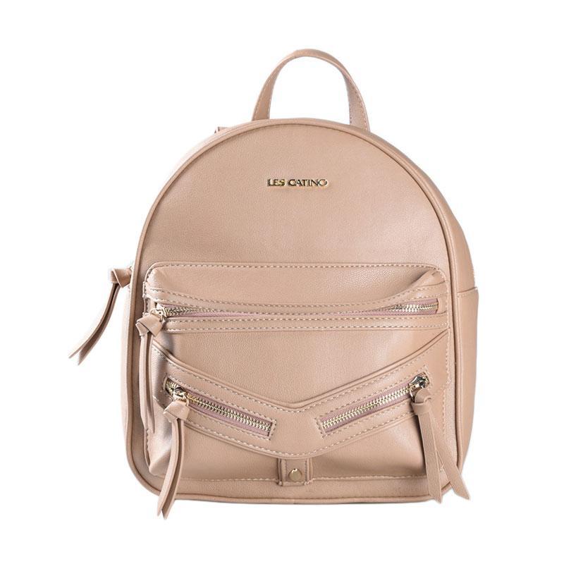 Les Catino Marciani Backpack Tas Wanita - Mocca