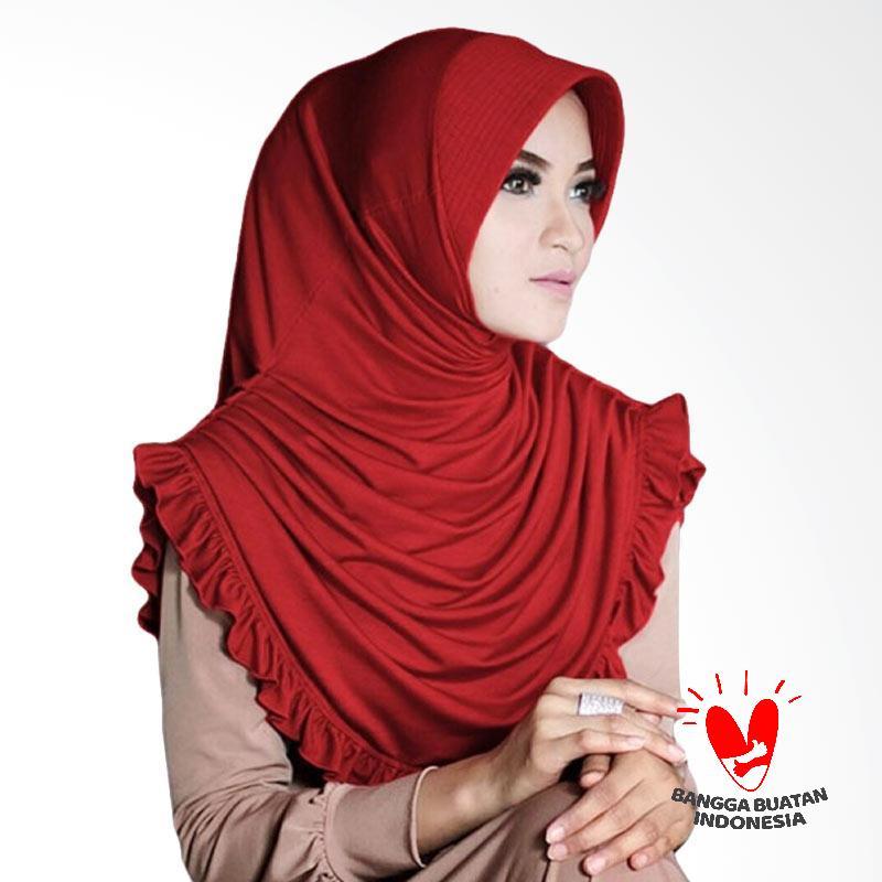 Milyarda Hijab Sofia Kerudung - Merah