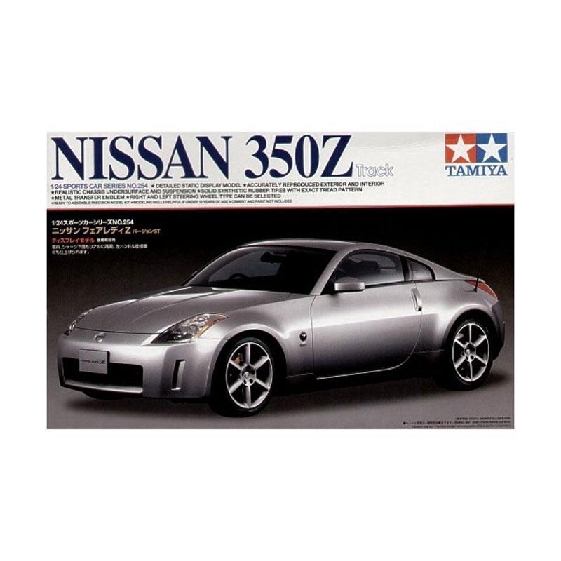 harga Tamiya #24254 Nissan 350Z Track Fairlady Diecast [1:24] Blibli.com