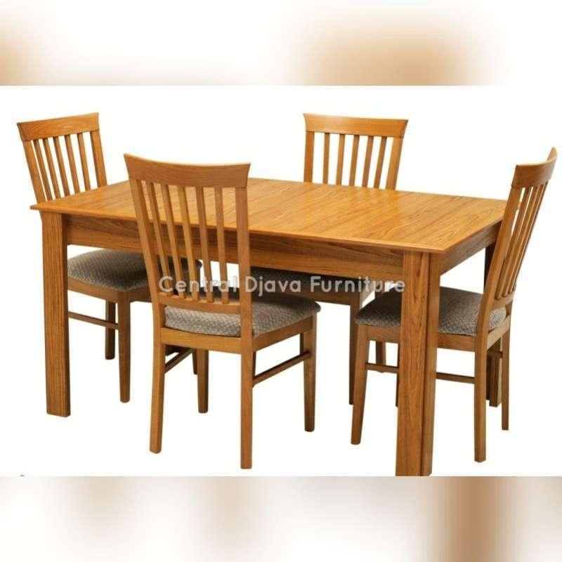 Jual Kursi Meja Makan Jati Minimalis Modern Furniture Asli Jepara Online Mei 2021 Blibli
