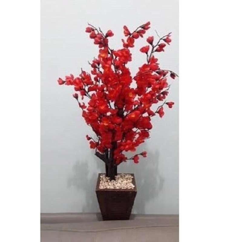 pohon imlek mehwa sincia xincia angpao sakura vas bunga cina tanaman