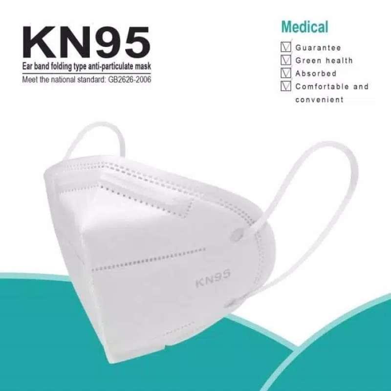 Masker KN95 Surgical Mask Ori / Masker Medis KN95 Top Quality isi 10PCS