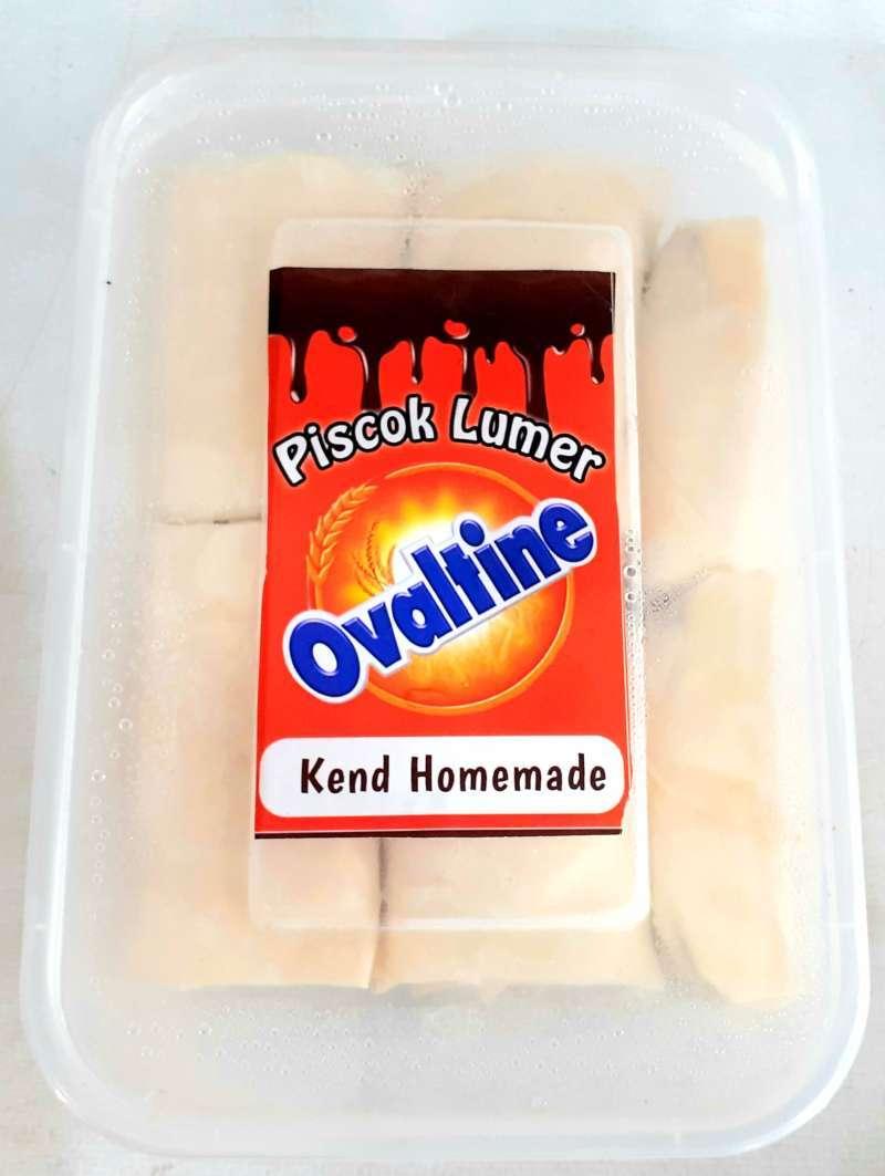 Piscok Lumer Kend Homemade Pisang Coklat lumer ovaltine
