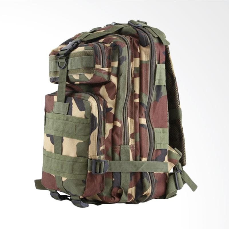 ARMY Army Militer 3P Tactical Tas Ransel - Deep Green