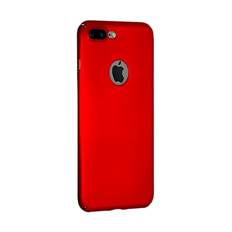 Fashion Baby Skin Ultra Thin Hardcase Casing for iPhone 7 Plus - Red