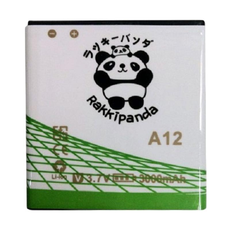 RAKKIPANDA Double Power IC Baterai for Evercoss A12