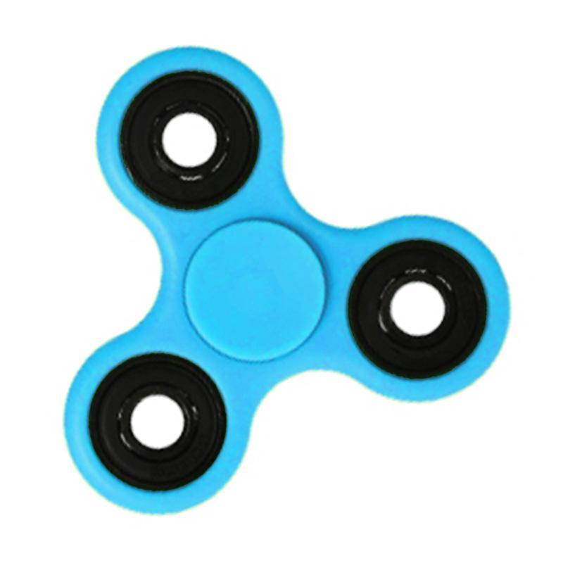 Aimons Hand Fidget Spinner Mainan Edukasi - Biru Muda