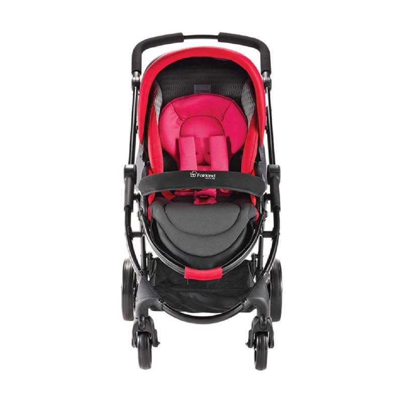 Fairland 3 W 7450A Focus Stroller - Red