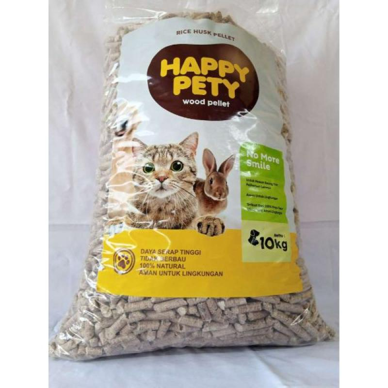 pasir kucing organik Wood Pellet 10 kg