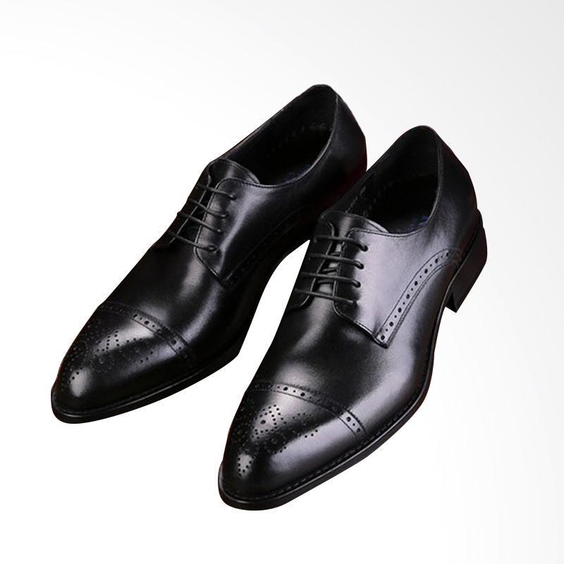 harga Daily Deals - Wetan Shoes Sepatu Pantofel Pria Oxford Kulit Asli  untuk Kerja dan Pesta d3a53c100f