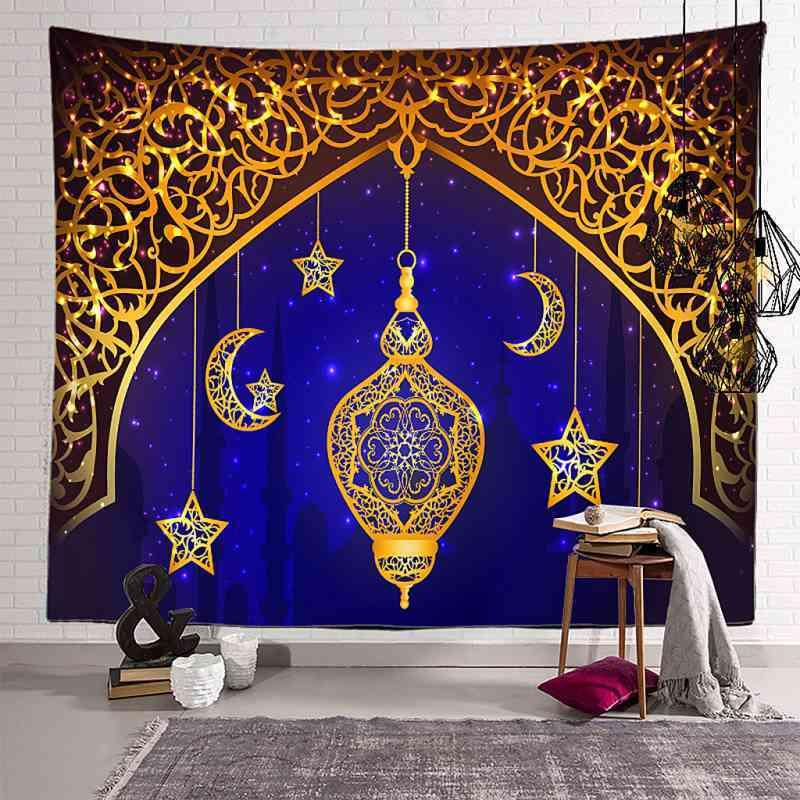 Jual Tapestry Eid Mubarak Wall Hanging Decoration Ornaments Dorm Living Room B 150x100cm Online Mei 2021 Blibli