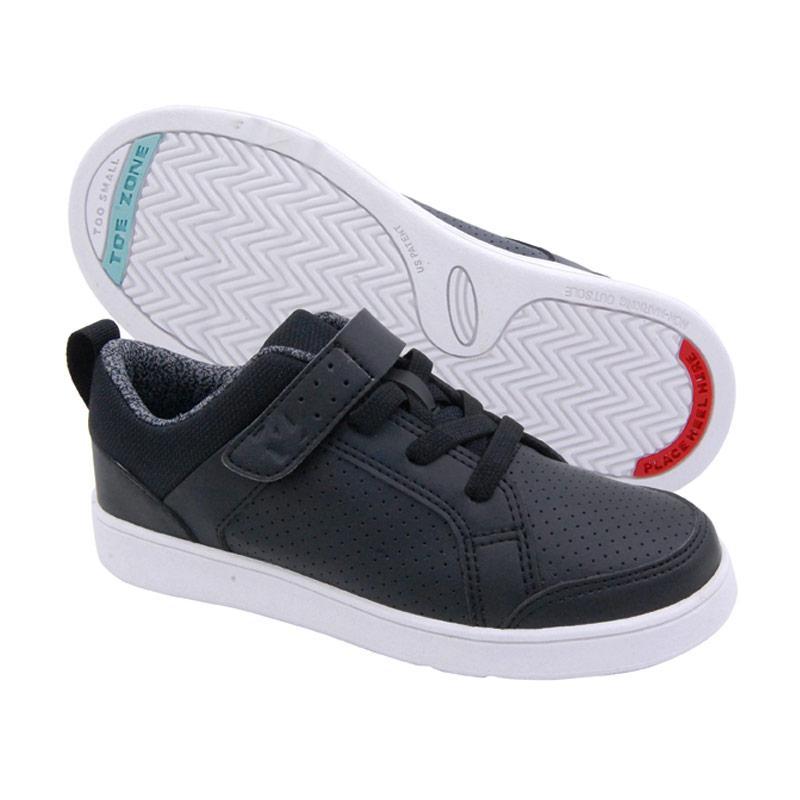 Toezone Kids Wilbur Yt Black Dottie Sepatu Anak Laki-Laki