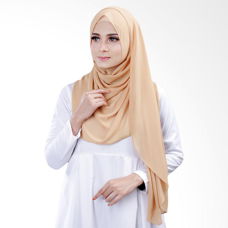 Cantik kerudung Bella Instant Shawl Hijab ��� Granola No.14