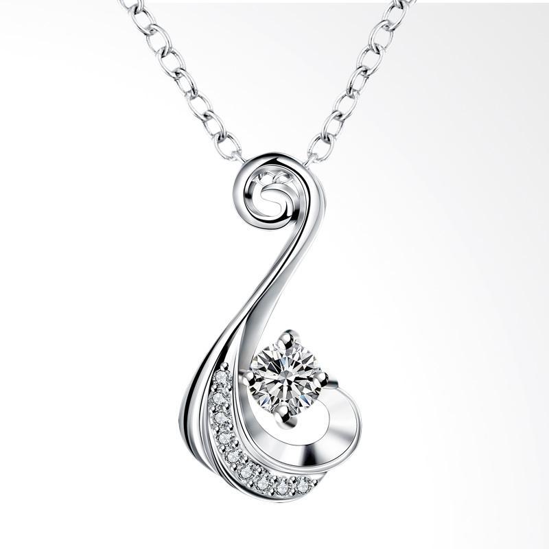Kelebihan Kekurangan Bella & Co Necklace SPN018-D Aksesoris Kalung Lapis - Silver Dan Harganya