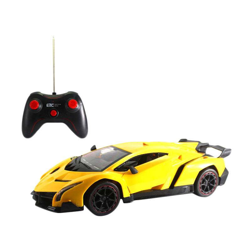 Enandem Lamborghini Serises Mainan Remote Control - Yellow