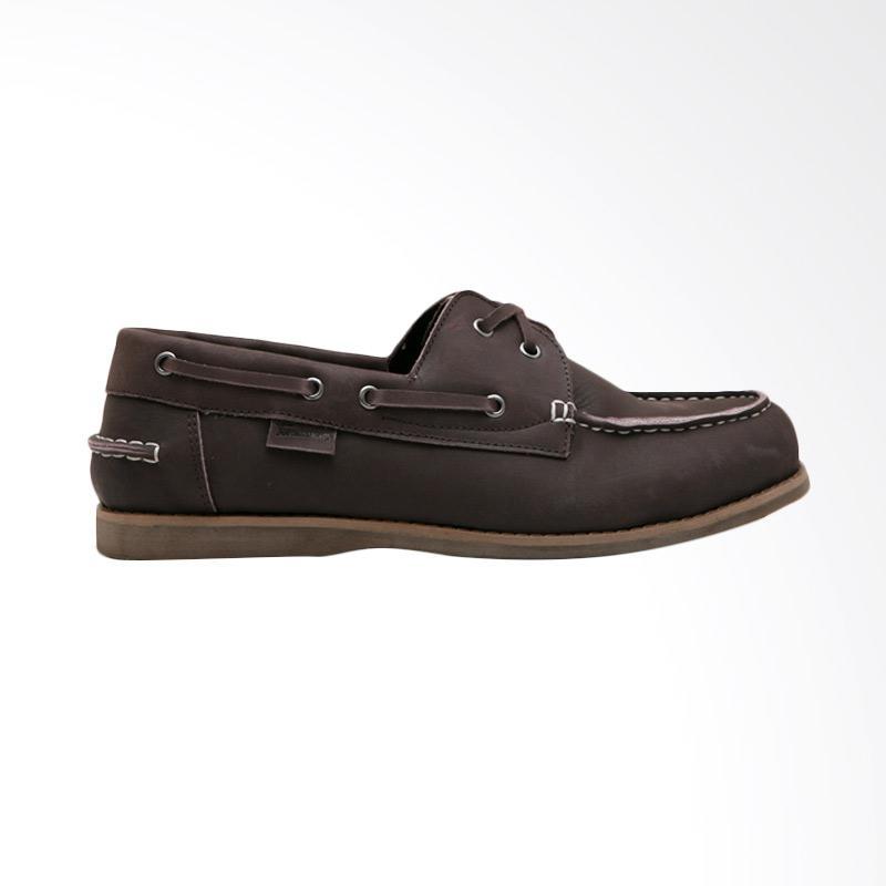 Tendencies Dockside Sepatu Pria - Coklat