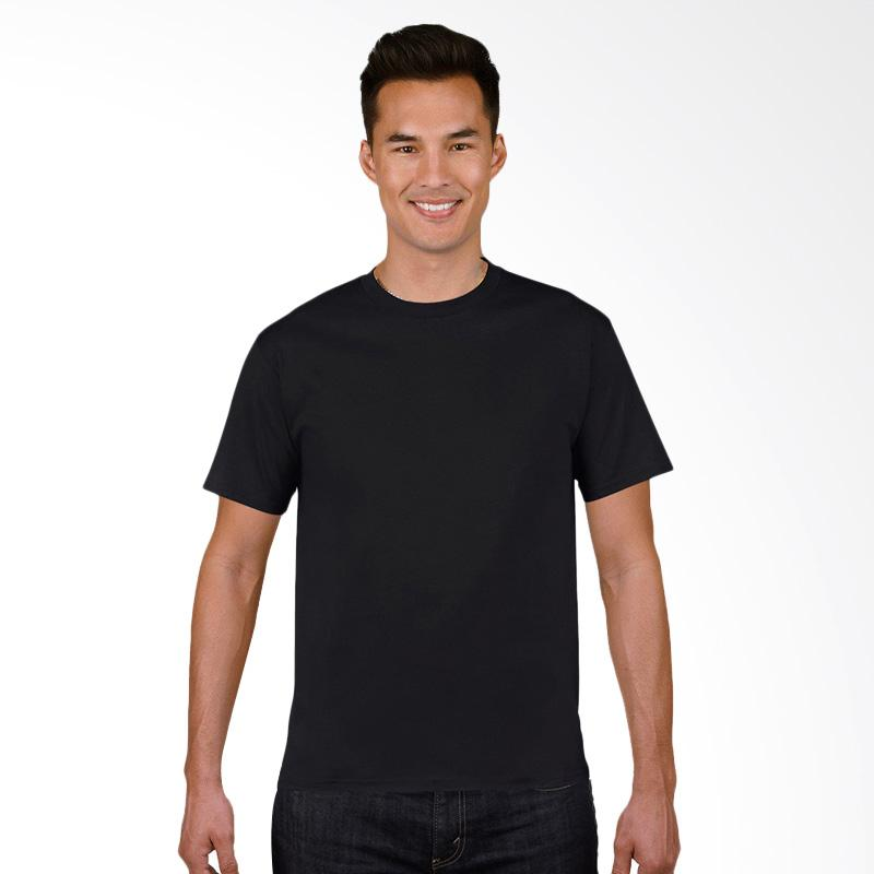Gildan Original SoftStyle T-Shirt Pria - Black