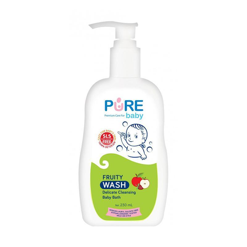 Pure Baby Bath Wash Fruity [230 mL]