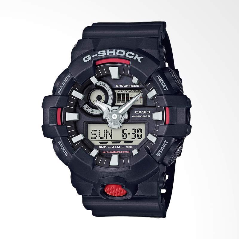 CASIO G-Shock Jam Tangan Pria - Black GA-700-1ADR
