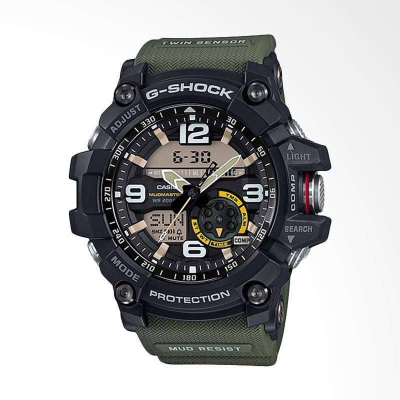 CASIO G-Shock Mudmaster Twin Sensor Jam Tangan Pria GG-1000-1A3DR