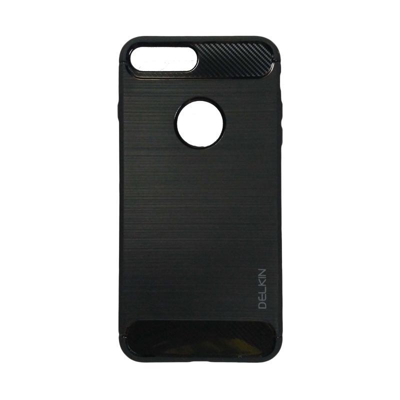 Delkin Slim Carbon Armor Casing for iPhone 7 Plus - Hitam