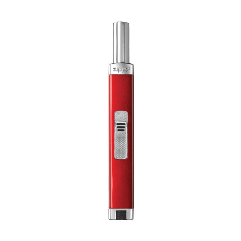 Zippo Unfilled Mini Candy Apple Butane Lighter - Red Silver