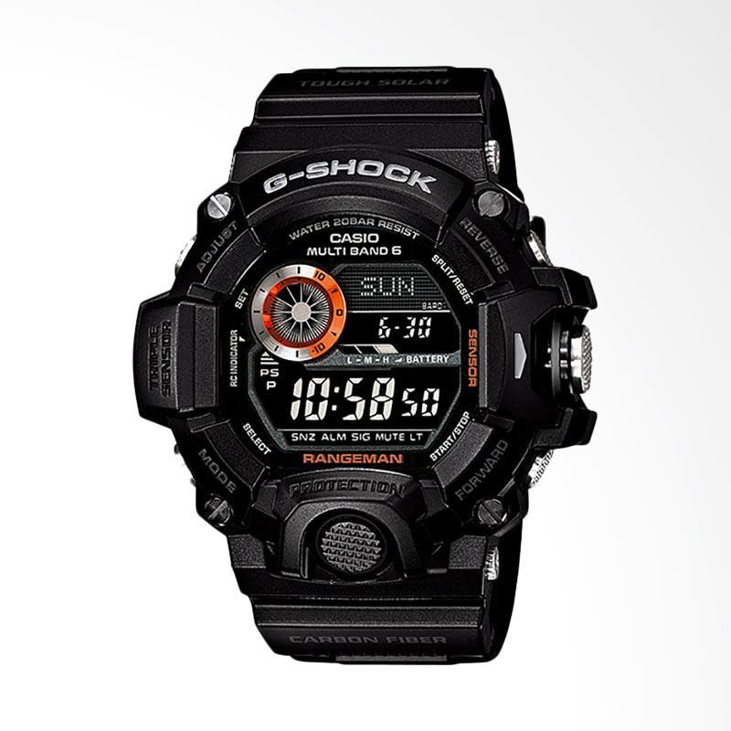CASIO G-Shock Rangeman Jam Tangan Pria - Black GW-9400BJ-1JF