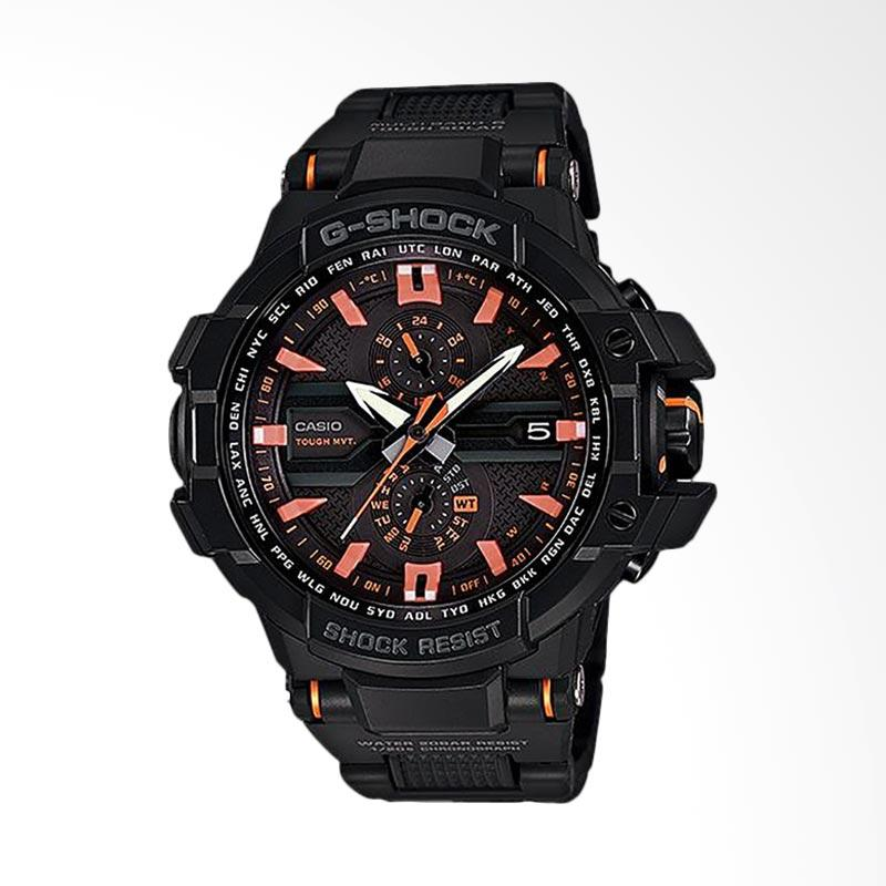 CASIO G-Shock Gravitymaster Jam Tangan Pria - Black  GW-A1000FC-1A4DR