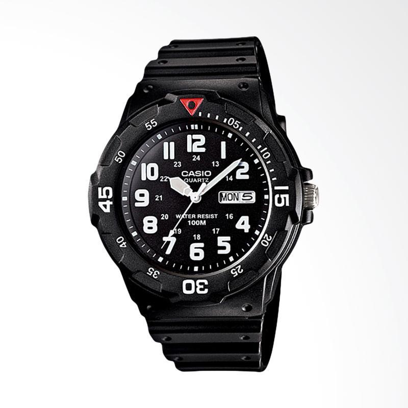 Casio Jam Tangan Pria - Black MRW-200H-1BVDF