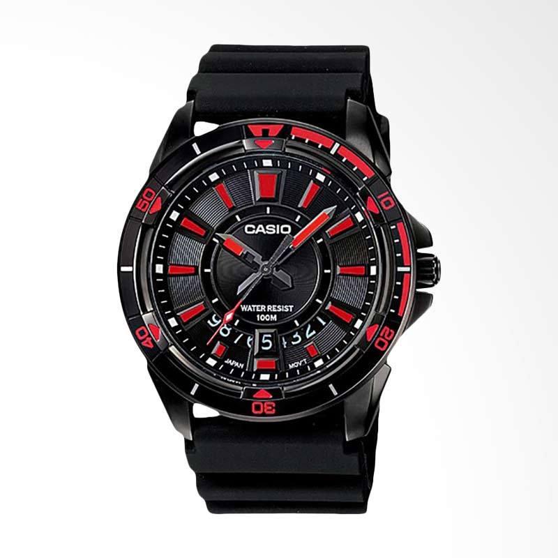 CASIO Standard Jam Tangan Pria - Black MTD-1066B-1A2VDF
