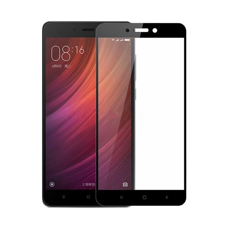 Tempered Glass [Front Only] Screen Protector for Xiaomi Redmi 4A - Hitam