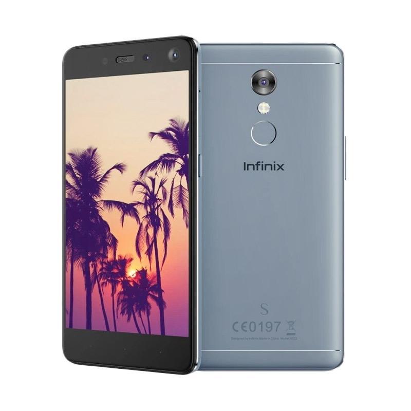Infinix S2 Pro Smartphone - Blue [32 GB/3 GB/Garansi Resmi 1 Tahun]