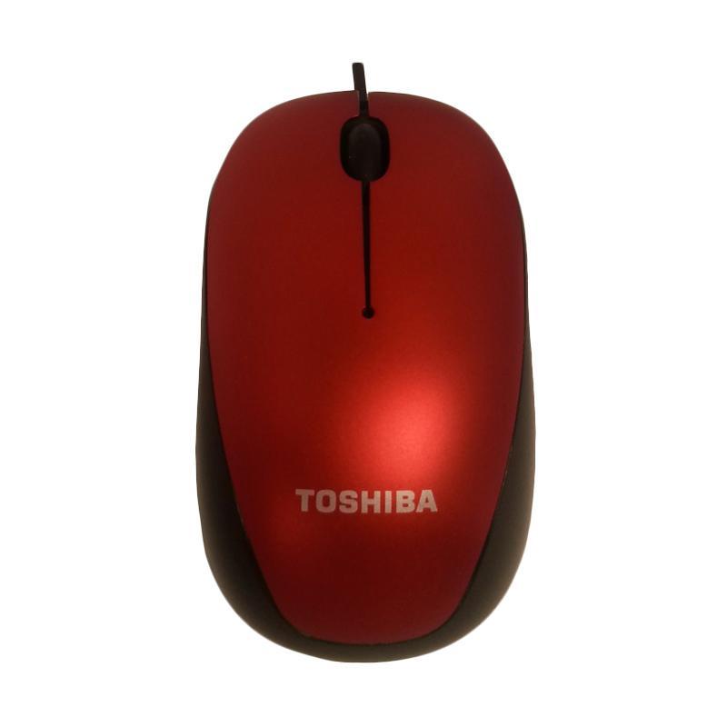 harga Toshiba Original U55 Optical Cable Mouse [Blue LED/ 1600 DPI/ 1-1.5 m] Blibli.com