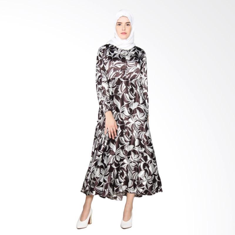 Rauza Rauza Chitra Dress Wanita - Coklat