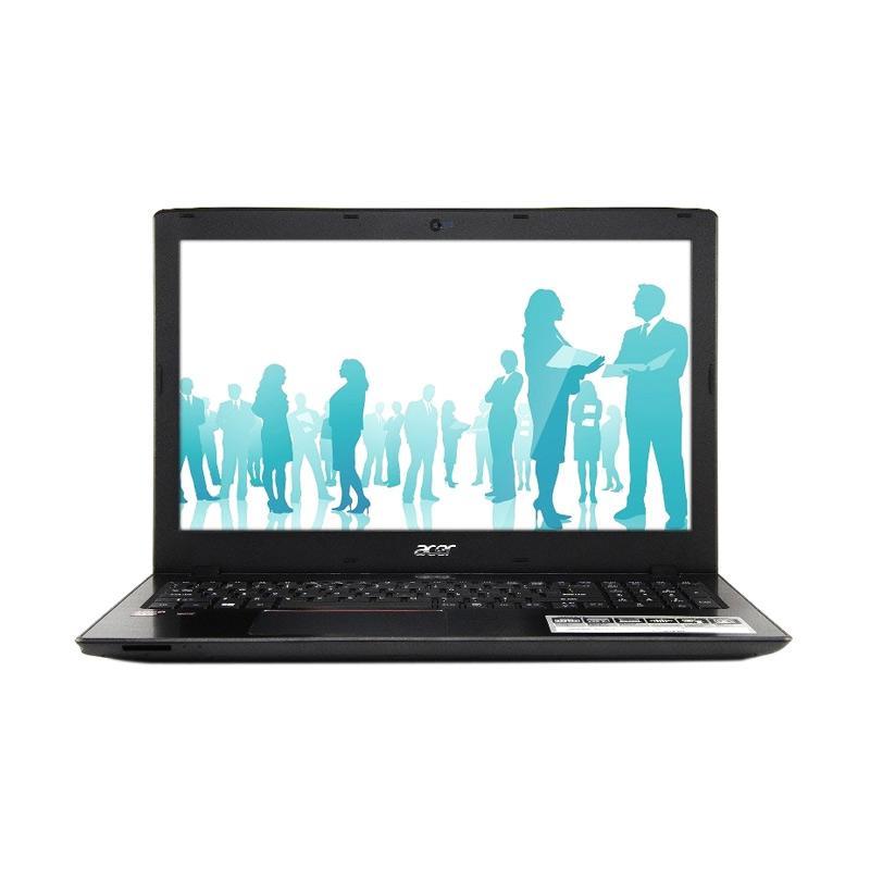 Acer E5 523G-96NN Notebook - Black [AMD A9-9410/4GB DDR4/500GB/AMD R5 2GB/Win10/15.6