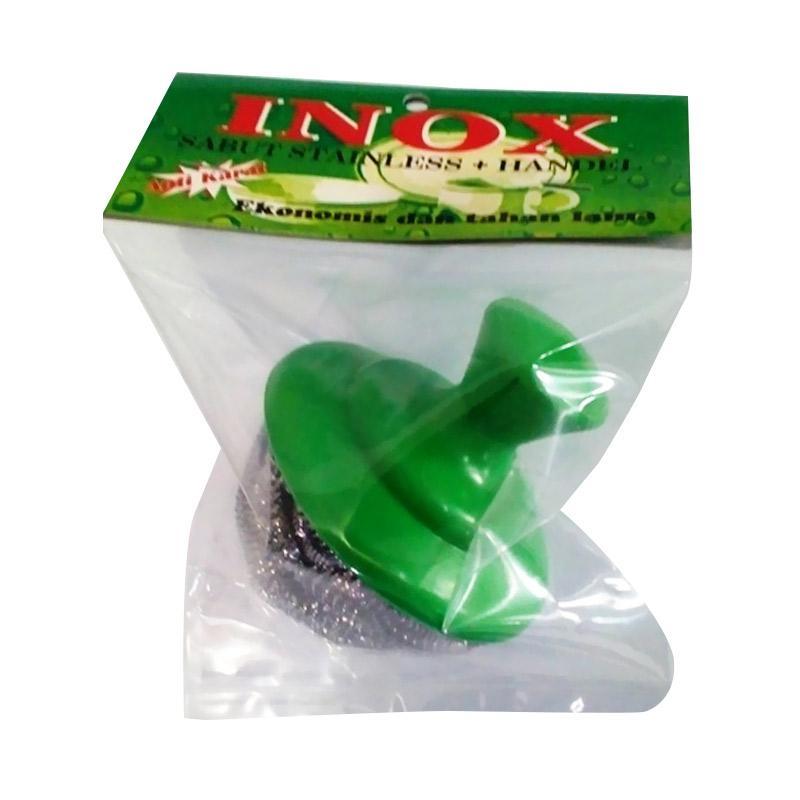 INOX 6 Stainless Handle - Hijau