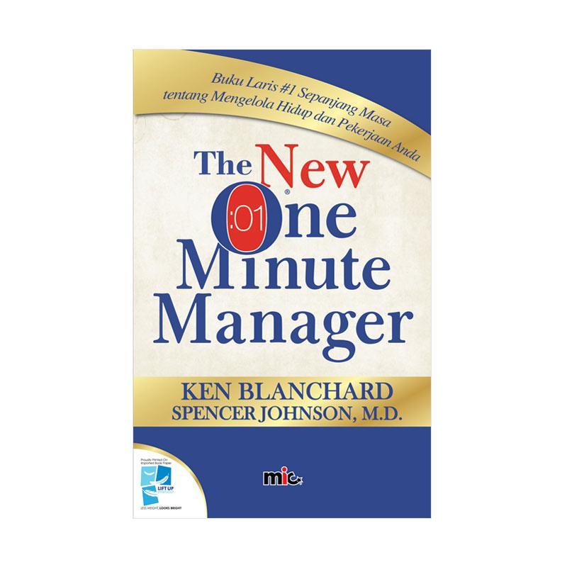harga MIC Publishing The New One Minute Manager by Ken Blanchard Buku Manajemen dan Kepemimpinan Blibli.com