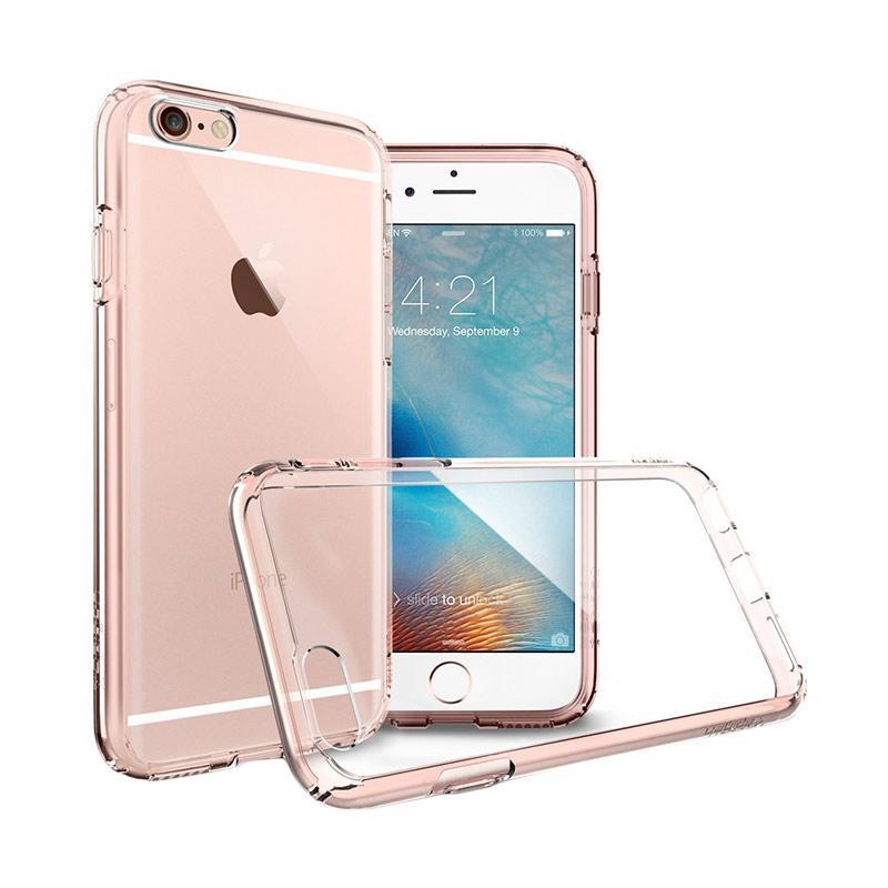 Spigen Neo Hybrid EX Premium Bumper Casing for iPhone 6s - Rose Gold